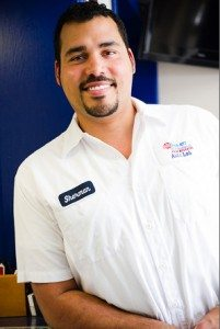 Sherman Riddick, Auto Lab Service Manager