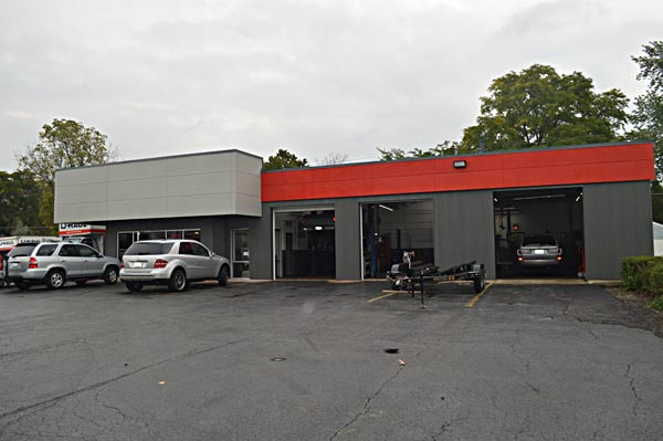 Auto Lab in Libertyville - Auto repair shop renovations