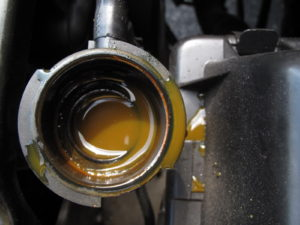Dirty engine coolant | Auto Lab Libertyville IL