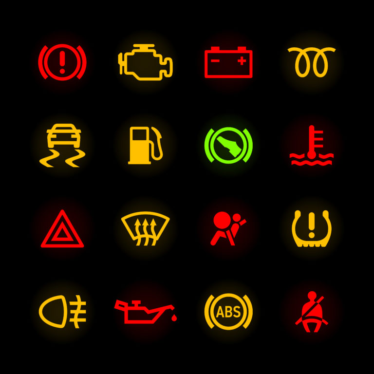 Dashboard Warning Lights When To Stop And When To Keep Driving
