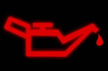 If this low oil pressure warning light illuminates on your dashboard, pull over ASAP. (Just make sure you're in a safe place to pull over.)